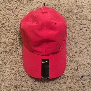 Youth pink Nike hat